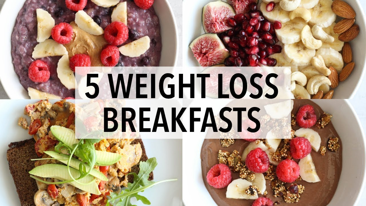 Delicious and Healthy Breakfast for Weight Loss
