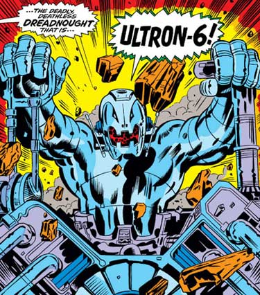What Can the Avengers Do Against an Ultron Made Up Entirely of Adamantium?